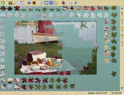 Jigsaws Galore for Windows Free Edition